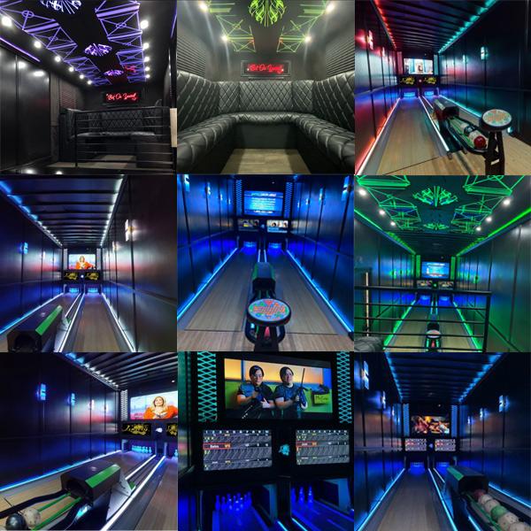 Luxury Strike Bowling Alley